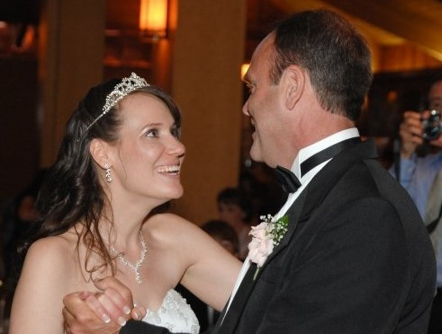 Mike Litzau and Christy Brunke Father Daughter Dance