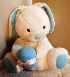 Big stuffed rabbit Tarzan the Tuzi