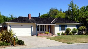 The garage where Jobs worked alongside his dad and later built the first Apple computers. Photo courtesy of http://mashable.com.