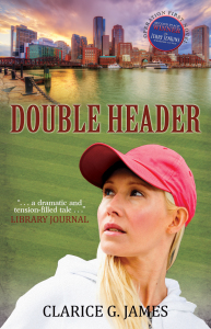 Double Header novel by author Clarice G. James