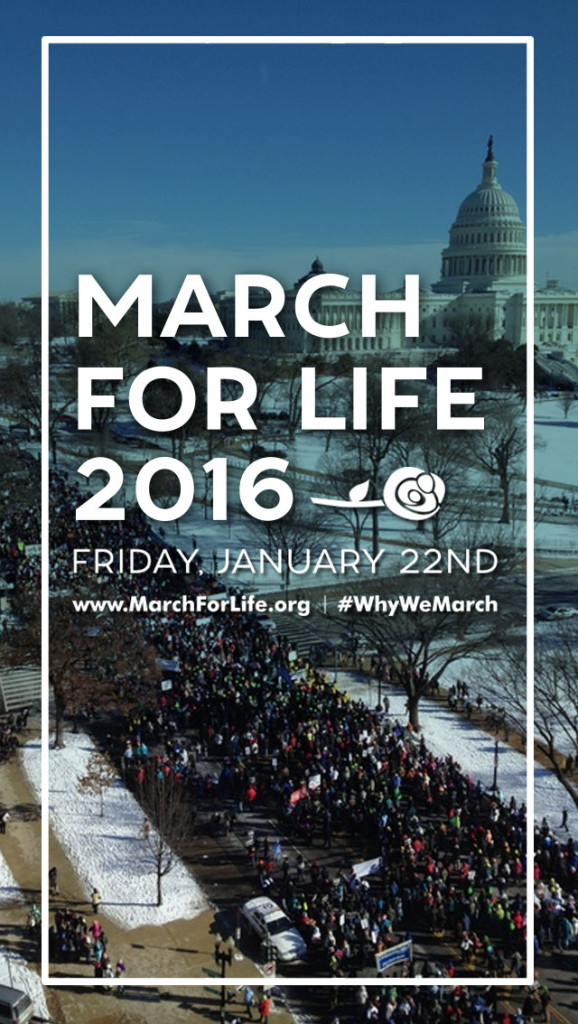 Photo courtesy of marchforlife.org