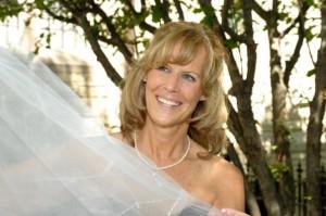 My mom Denise Litzau on my wedding day