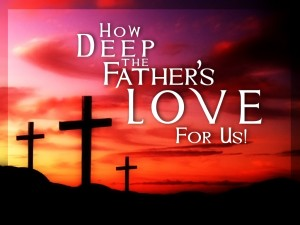 How deep the Father's love for us song