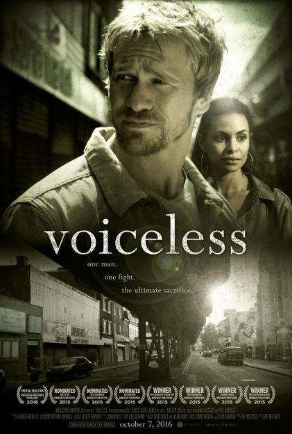 Voiceless 2016 pro-life film movie poster