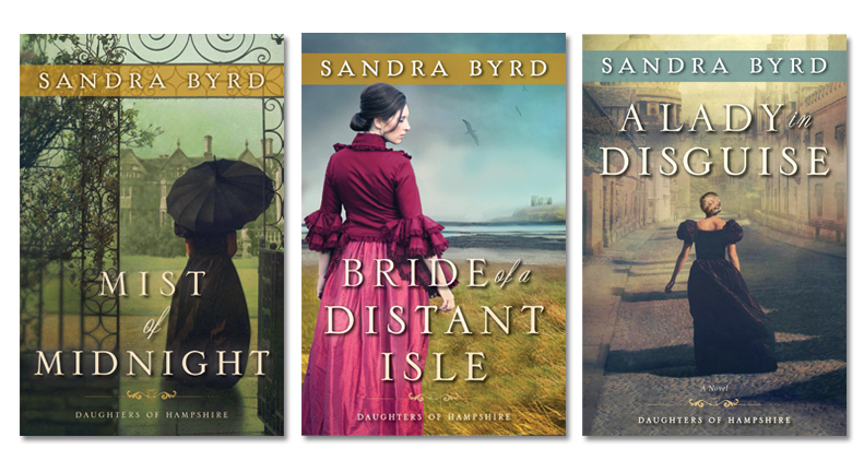 Daughters of Hampshire novel series by Sandra Byrd