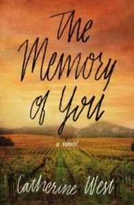 The Memory of You novel by Catherine West