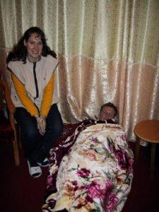 Christy Brunke and Jason Hamilton at Connie Gibson's