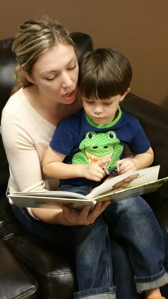 Books for Babies program at Pregnancy Help Clinic