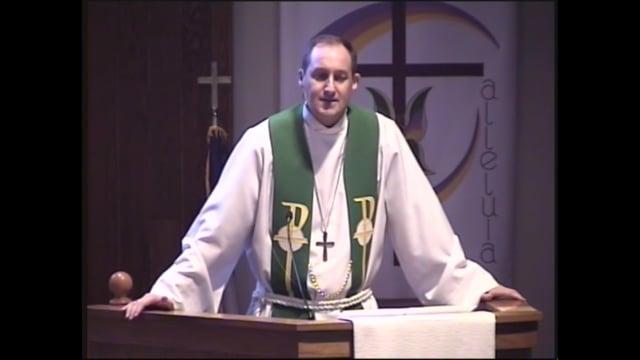 Eric Eichinger, pastor of Bethel Lutheran Church