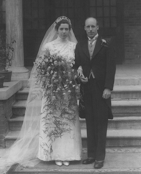 Eric Liddell and Florence Mackenzie wedding