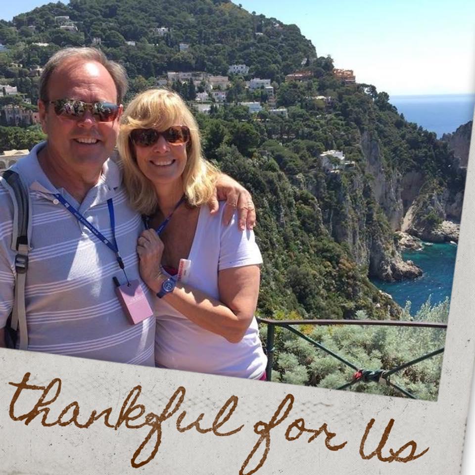 Christy Brunke's parents Mike and Denise Litzau