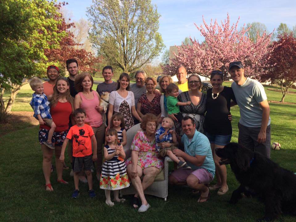 Easter: The Brunke, Carter, and Litzau Families